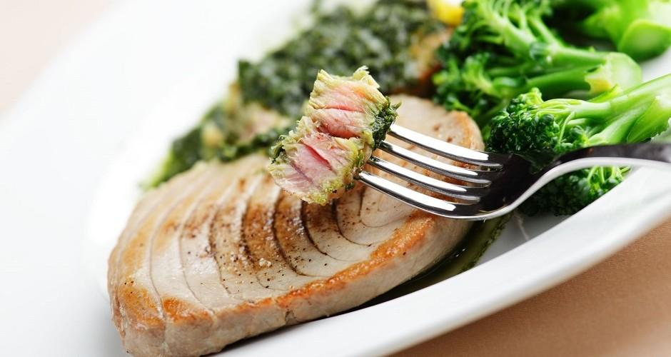 Brokoli in tuna v petih minutah!