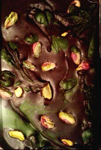 čokolada s pistacijo