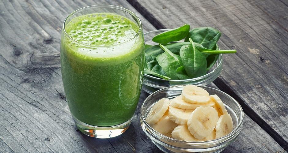 zelen kremast smoothie