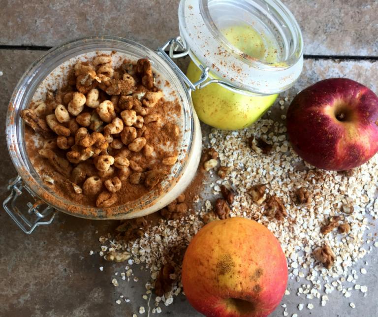 smoothie jabolčna pita